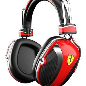 Słuchawki Logic3 P200 z kolekcji Scuderia, sygnowane przez Ferrari. Cena: 999 zł