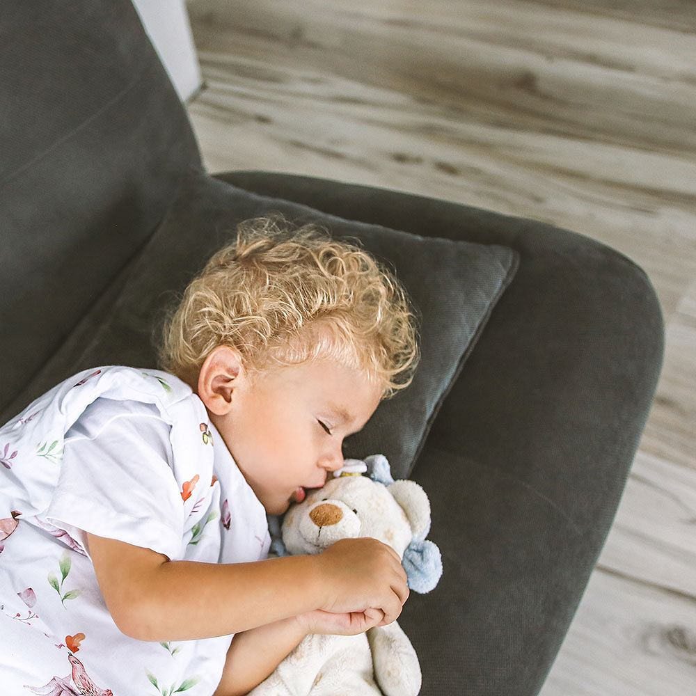Śpiworki Tup Tup idealne rozwiązanie dla rozkopujących kołdrę maluszków