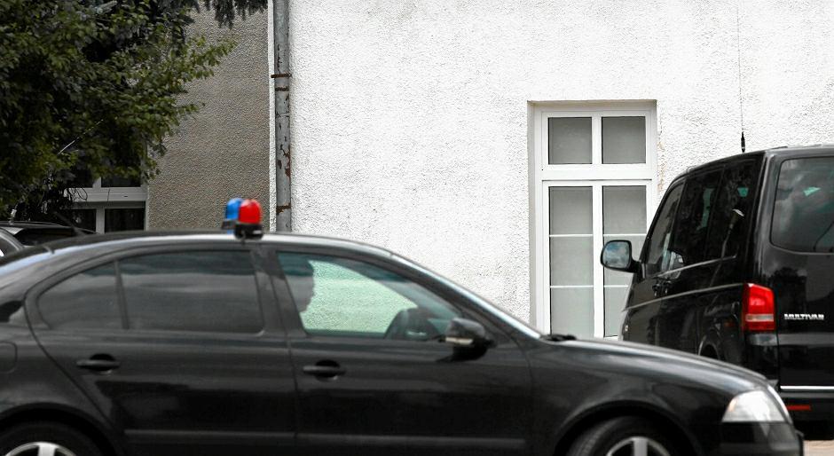 Samochód funkcjonariuszy SOP - zdjęcie ilustracyjne