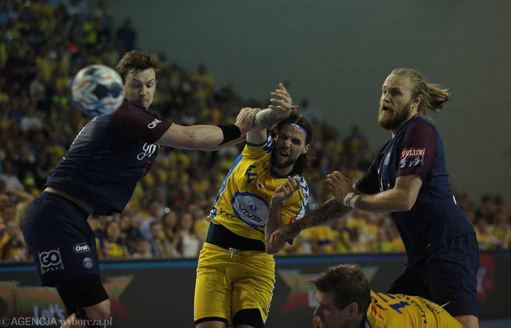 Dean Bombac podczas meczu PGE Vive Kielce - PSG