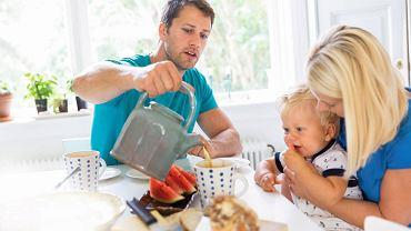 Śniadanie z rodzinką