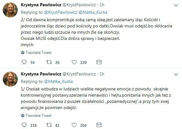 Wpisy Krystyny Pawłowicz