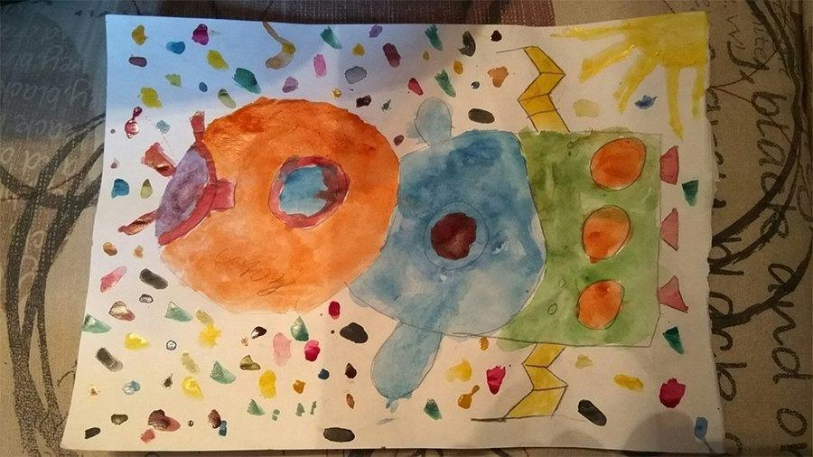 Rysunek chłopca zyskał uznanie agencji kosmicznej
