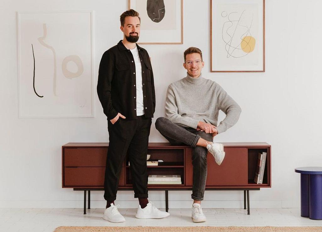 Damian Goliński i Cyprian Bieniarz - założyciele marki Noo.ma