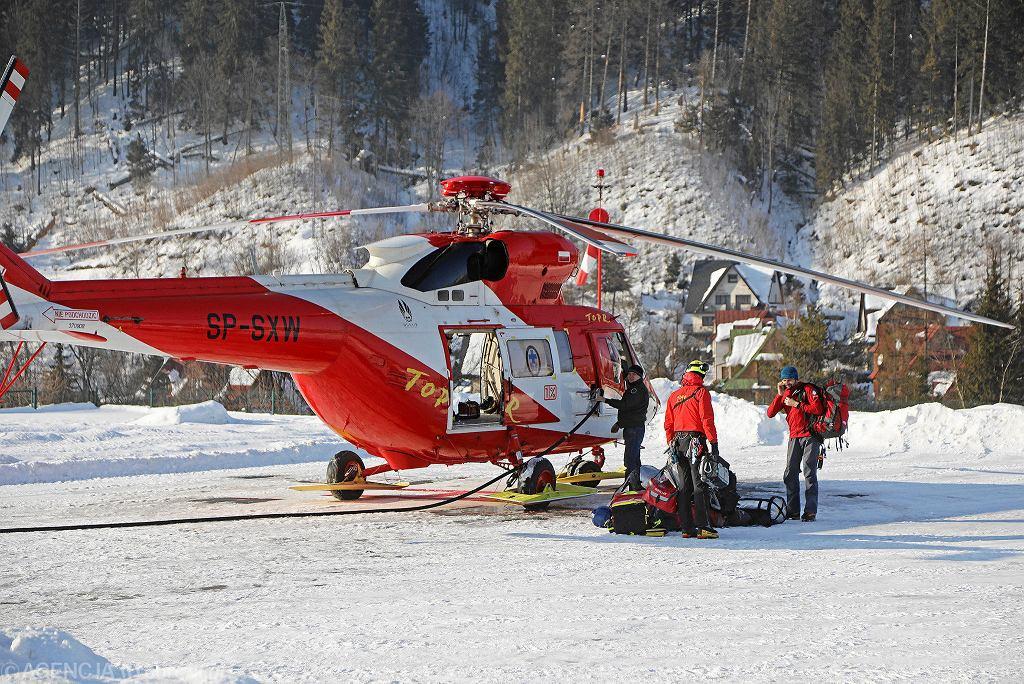 Lawina w Tatrach. Akcja ratowników TOPR