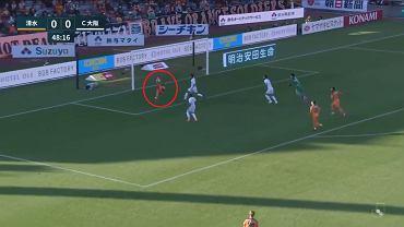 Imponujący gol w lidze japońskiej. 'Jedno z najlepszych wykończeń, jakie zobaczycie'