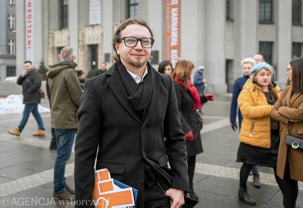 Łukasz Kohut jest koordynatorem ugrupowania Roberta Biedronia w województwie śląskim