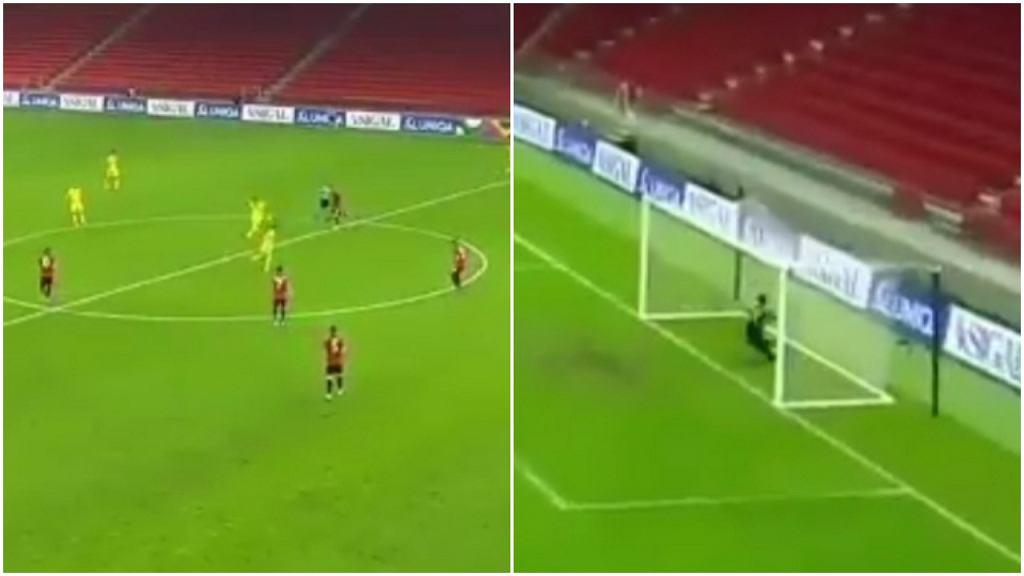 Błąd Etrita Berishy i gol z połowy boiska strzelony przez Kazachstan
