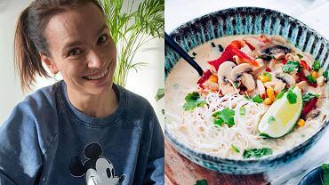 Anna Starmach podzieliła się przepisem na zupę tajską
