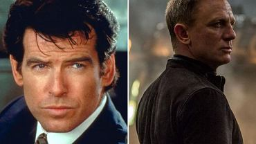 Pierce Brosnan i Daniel Craig - obaj panowie zagrali Bonda czterokrotnie