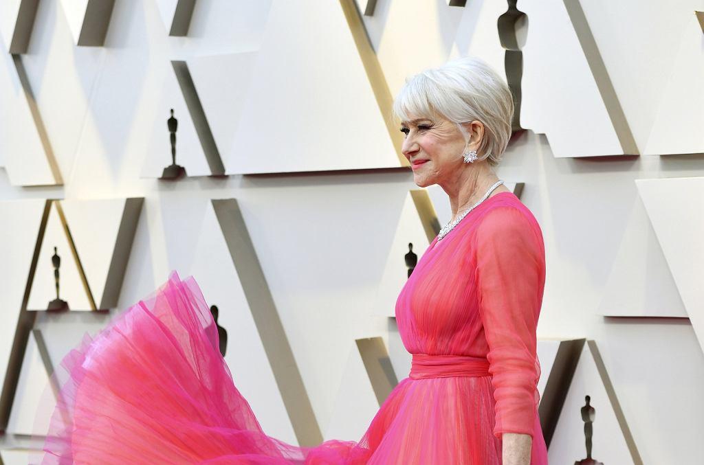 Helen Mirren - Oscary 2019 - czerwony dywan