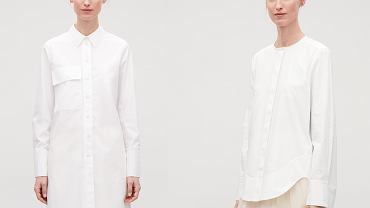 Biała koszula COS
