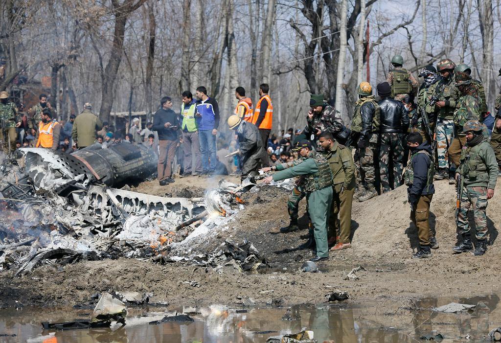 Zestrzelenie samolotu w Kaszmirze