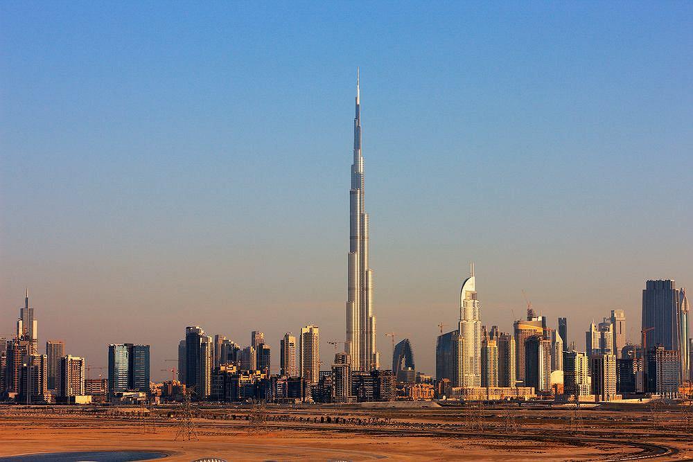 Burj Khalifa, najwyższy wieżowiec świata