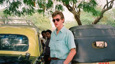 Cezary Borowy w latach 80. w Indiach