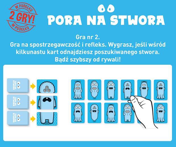 'Pora na stwora' - Wydawnictwo Nasza Księgarnia
