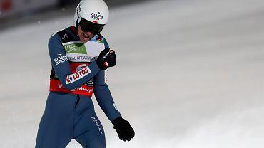 Piotr Żyła podczas Mistrzostw Świata w Planicy, 13 grudnia 2020