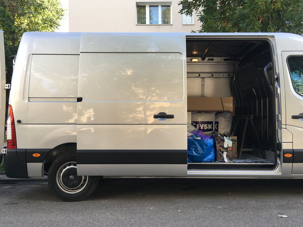 Opel Movano Furgon w akcji
