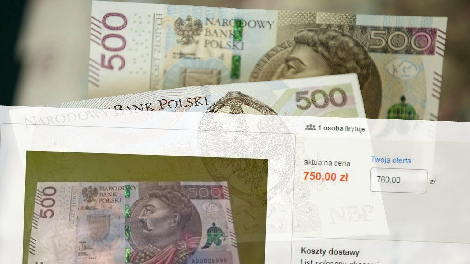 Masz Banknot 500 Zl Mozesz Na Nim Dobrze Zarobic Biznes Na Next Gazeta Pl