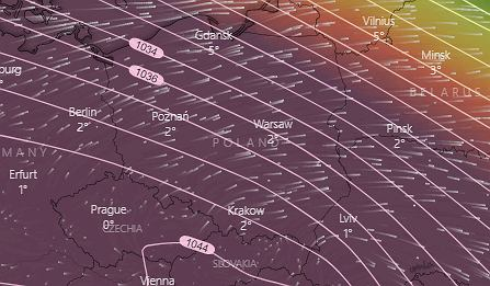 Ciśnienie atmosferyczne w Polsce. Do rekordu zabrakło sześciu hektopaskali (zdjęcie ilustracyjne)