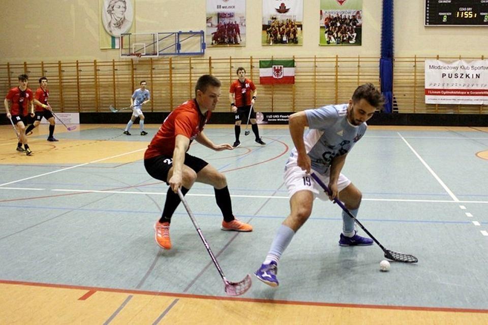 Ekstraliga Unihokeja Mężczyzn, sezon 2020/21: I LO UKS Floorball Gorzów - Olimpia Łochów  po dogrywce 5:4