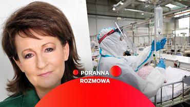 Dr Grażyna Cholewińska-Szymańska w Porannej Rozmowie Gazeta.pl