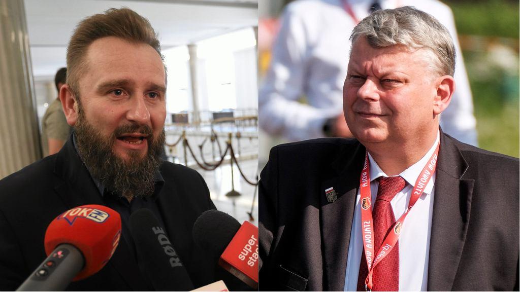 Piotr Liroy-Marzec, Marek Suski