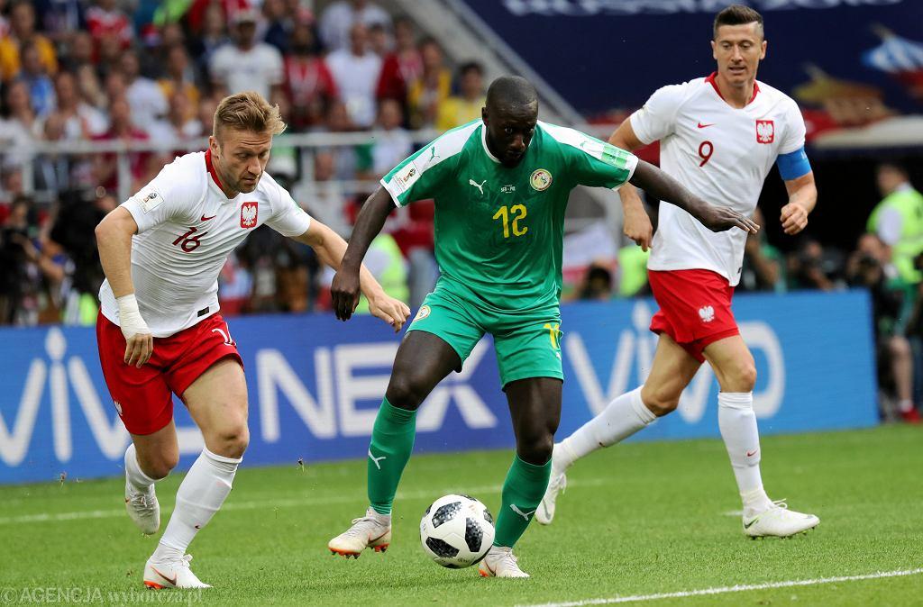 Jakub Błaszczykowski w meczu Polska -Senegal. Mistrzostwa Świata w Rosji, Moskwa, stadion Spartaka, 19 czerwca 2018