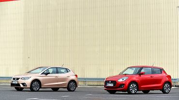 Seat Ibiza 1.0 TSI vs. Suzuki Swift 1.0 BoosterJet