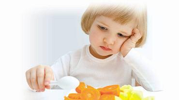 Rodzice decydują, co pojawia się na stole, ale to dzieci decydują, ile z tego zjedzą.