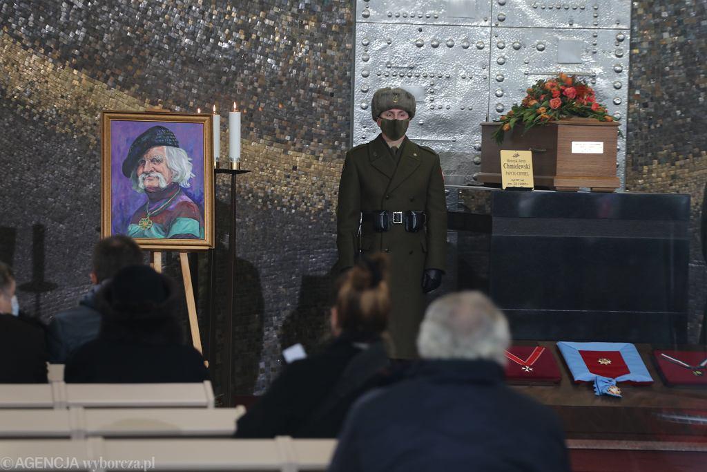 Pogrzeb Papcia Chmiela