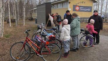 W Finlandii i Norwegii jazda rowerem w zimę nie jest niczym nadzwyczajnym.