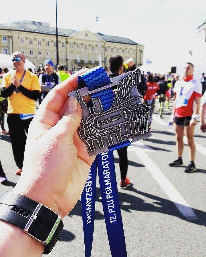 Medal Półmaratonu Warszawskiego