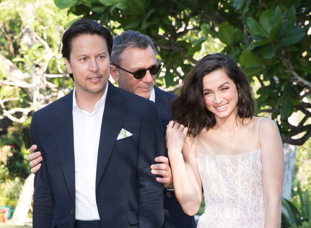 Zdjęcia do 'Bonda 25' na Jamajce, 25 kwietnia 2019. Cary Joji Fukunaga, Daniel Craig i Ana de Armas