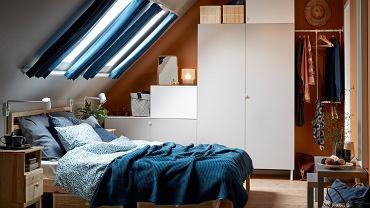 Sypialnia - poddasze użytkowe