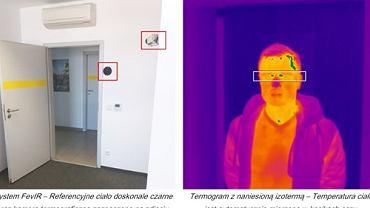 Wrocławska firma opracowała superszybki pomiar temperatury człowieka.  Stara się nim zainteresować Ministerstwo Zdrowia i MSWiA.