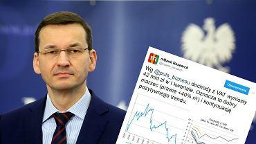 Rosną wpływy do budżetu z podatku VAT