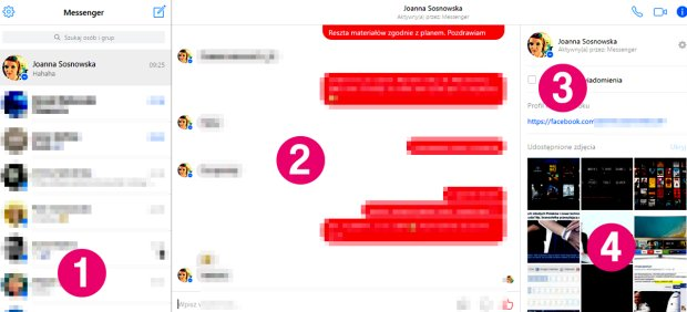 Jak korzystać z Messengera przez przeglądarkę?