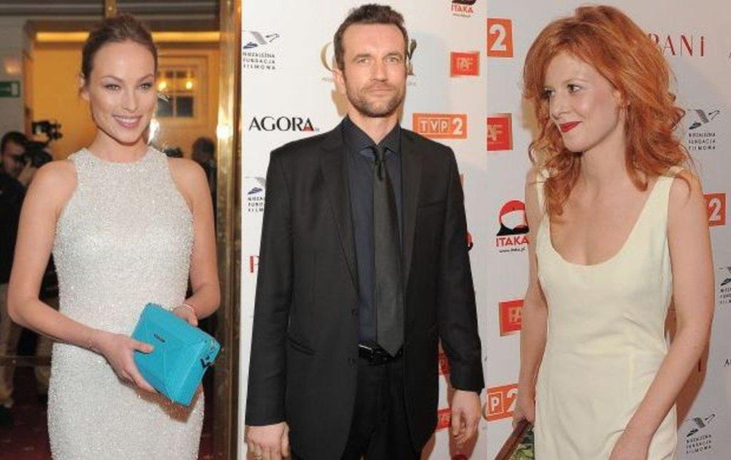 W Teatrze Polskim w Warszawie jest już tłum gwiazd, a wśród nich nominowani do tegorocznych Polskich Nagród Filmowych Orły 2015. Zobacz, kto przybył na galę.