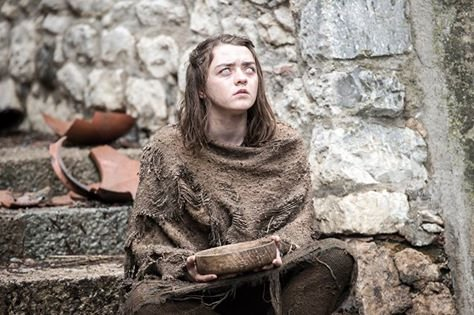 Maisie Williams jako Arya Stark