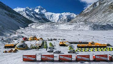 Chińczycy mają Mount Everest na wyłączność. I z tego korzystają. Pierwsza taka instalacja na świecie