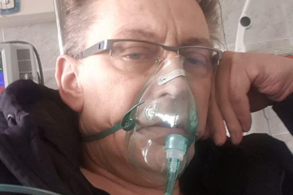 Jacek Borkowski w szpitalu