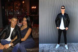 Cristiano Ronaldo nie rozstaje się ze skórzaną kurtką. Sprawdź 3 outfity w stylu piłkarza