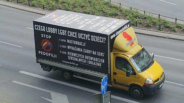 Protest przeciwko LGBT