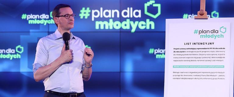 Morawiecki prezentuje Plan dla Młodych. Zerowy PIT to dopiero początek?