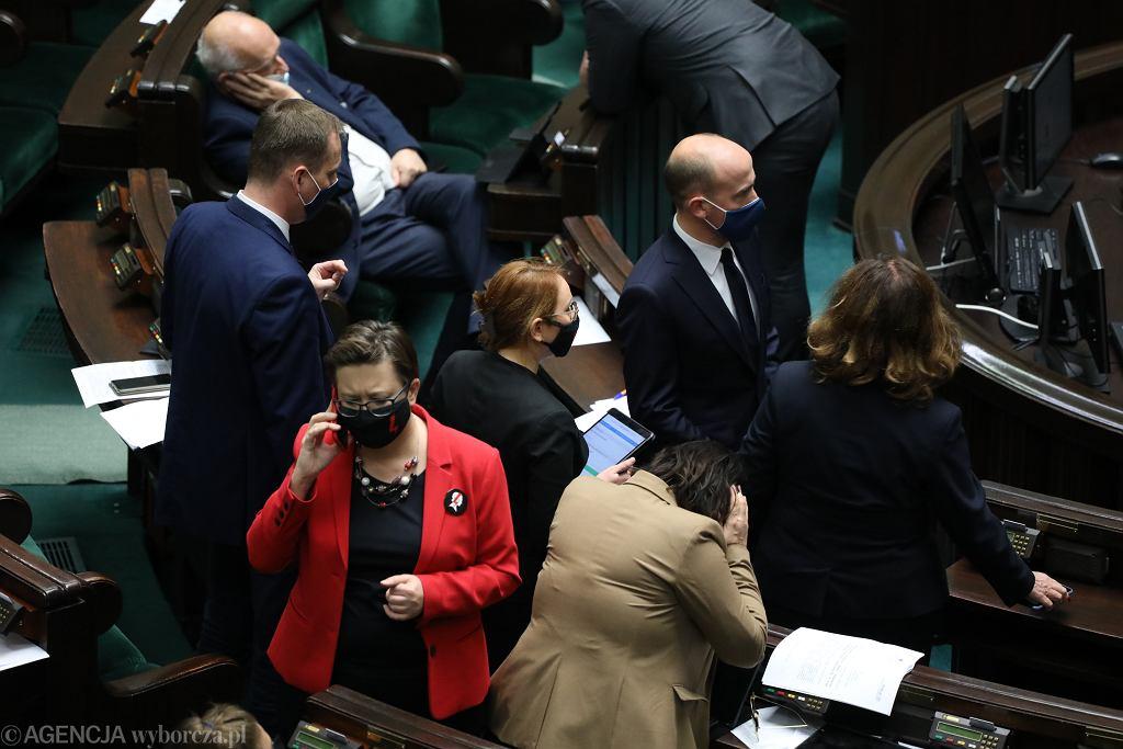 Politycy KO - 21 . posiedzenie Sejmu X kadencji