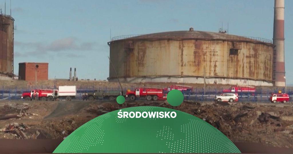Wyciek oleju napędowego w Rosji