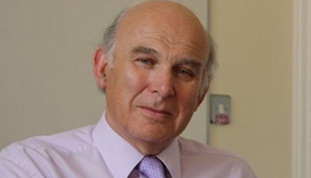 Brytyjski minister ds. biznesu, Vince Cable