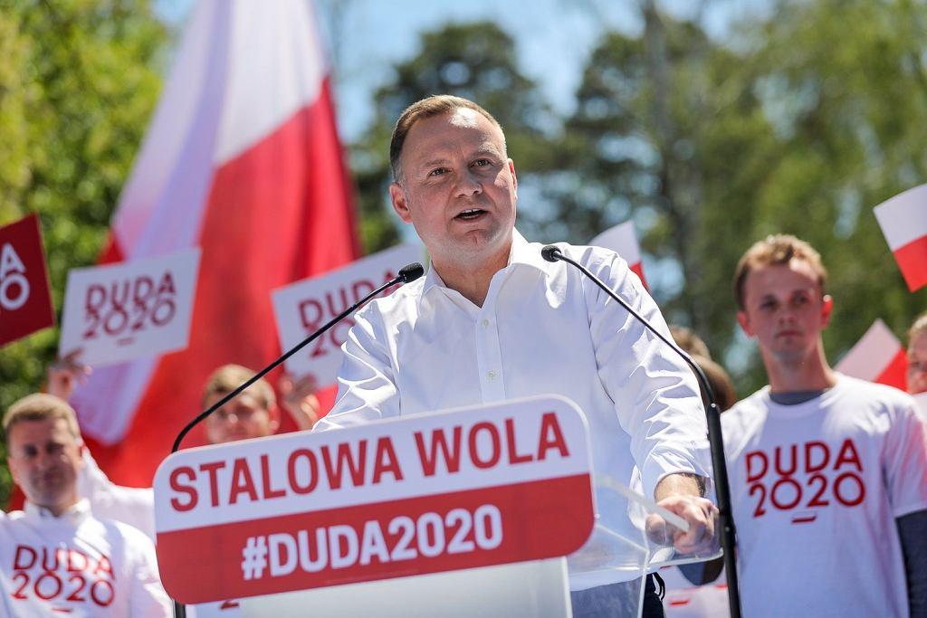 Andrzej Duda w Stalowej Woli