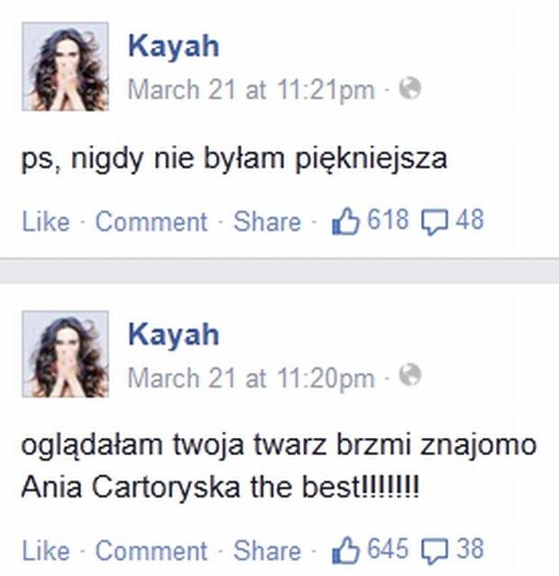 Kayah o występie Anny Czartoryskiej w TTBZ 3